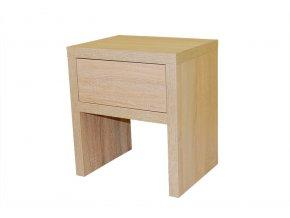 Ahorn noční stolek zásuvka
