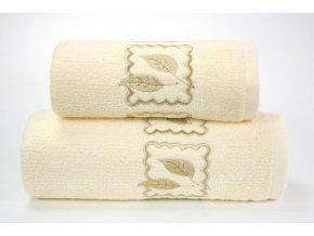 Gracia osuška,ručník krémový