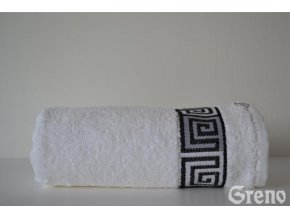 Dunaj osuška,ručník bílý