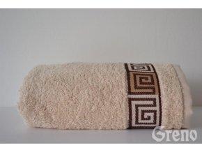 Dunaj osuška,ručník krémový