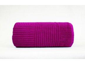 Enigma ručník,osuška fuchsie