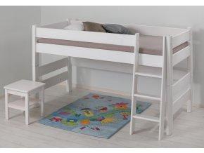 0004575 detska patrova postel sendy nizka bila