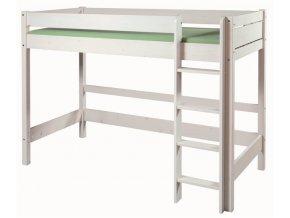 0001187 detska patrova postel bella vysoka bila