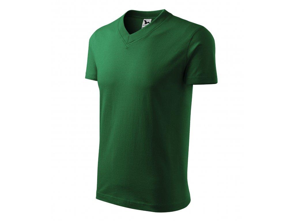V-neck tričko unisex