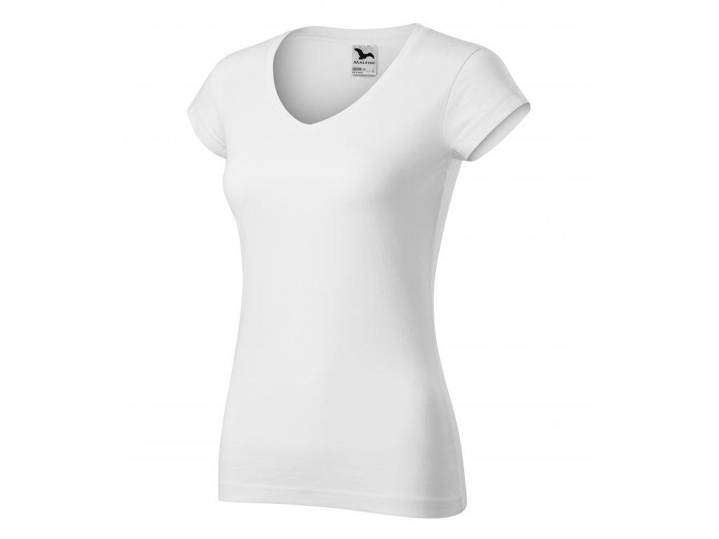 Fit V-neck tričko dámské