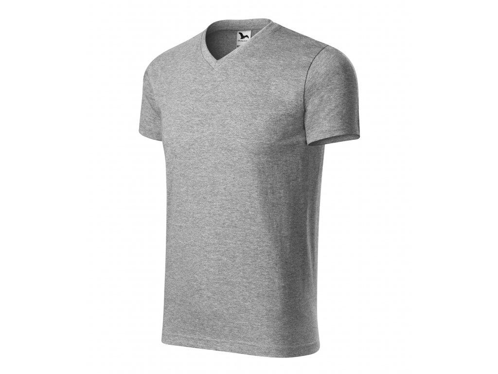 Heavy V-neck tričko unisex