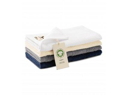 Organic malý ručník unisex 30 x 50 cm