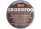 Barva na obličej Snazaroo 18ml - 998 Hnědá tmavá