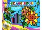Slupovací barvy na sklo - Glass Deco 10ks