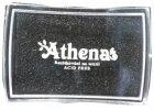 Polštářek pro razítkování na textil - černý