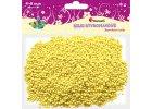 Polystyrénové kuličky - žluté