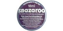 Barva na obličej Snazaroo 18ml - 888 Fialová tmavá