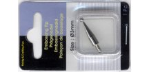 Hrot na embosing 3 mm