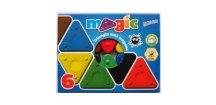 Magic Triangle wax crayon 6