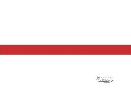 Hedvábný papír 50x70 cm 18g - světle červený