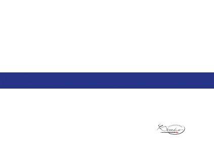 Hedvábný papír 50x70 cm 18g - tmavě modrý