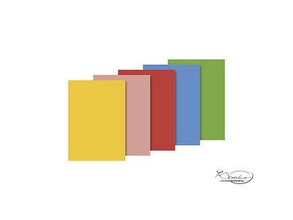 Hedvábný papír 50x70 cm 18g -  mix 5 barev