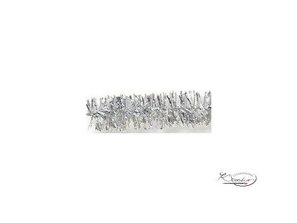 Žinilkový drát 10ks - Stříbrný