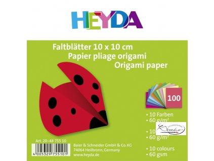 Origami 10x10 cm 60g 10 barev