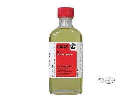 Lněný olej Lukas 125ml