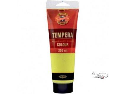 Tempera KIN 250 ml 1200 Žluť citronová