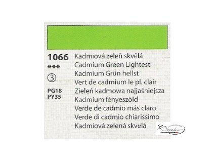 Tempera Umton 35 ml - 1066 Kadmiová zeleň skvělá