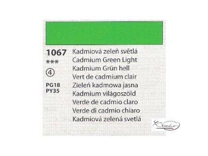 Tempera Umton 35 ml - 1067 Kadmiová zeleň světlá