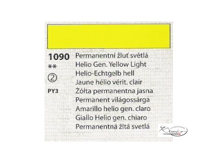Tempera Umton 35 ml - 1090 Permanentní žluť