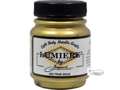 Lumiére 67 ml - 550 Pravá zlatá