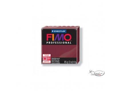 Fimo Professional 85g 23 Bordó