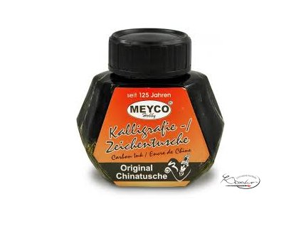 Kaligrafická tuš 50 ml černá