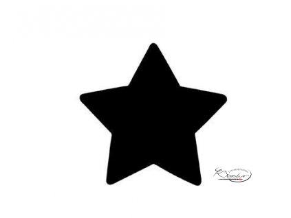 Děrovač modrý 22mm plný - Hvězda