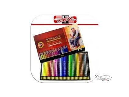 MONDELUZ souprava akvarelových pastelek 36