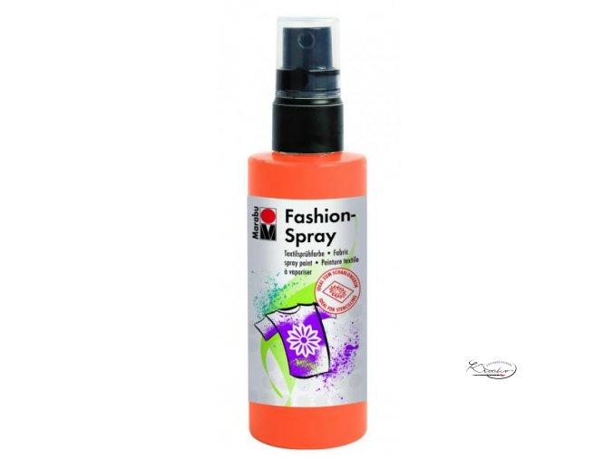 Fashion Spray Marabu 100 ml - 225 Mandarinková