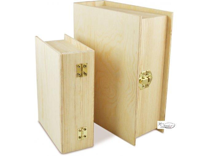 Dřevěná krabička 34631 19x15x6 cm