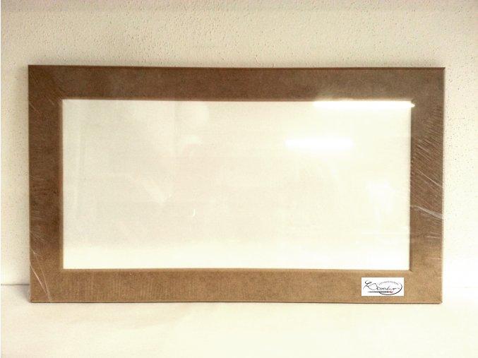 Rámeček MDF 16x32x3 cm