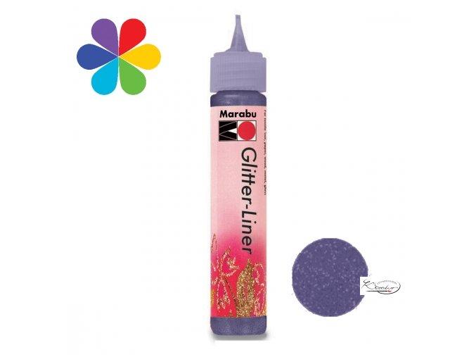 Glitter Liner - 507 Fialový levandulový