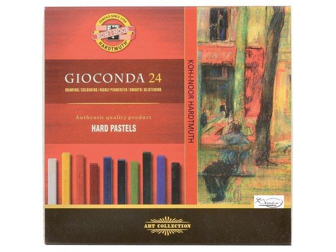 Gioconda 24 Hard Pastels