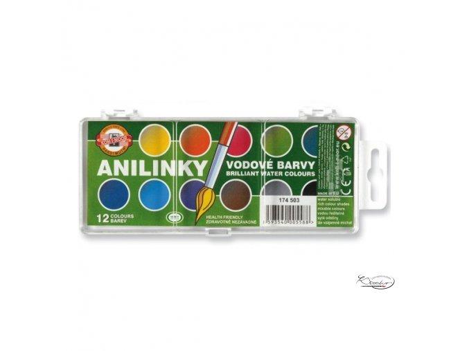 Vodové barvy Anilinky Koh-i-nnor