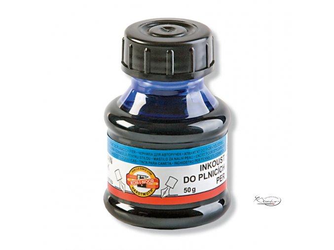 Inkoust do plnících per modrý