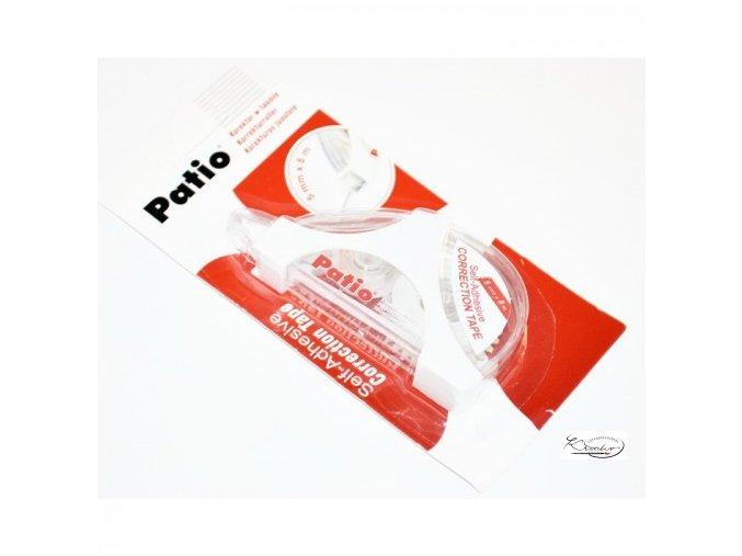 Korekční roller Patio červený