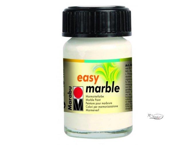 Mramorovací barva easy marble 15ml 101 crystal clear
