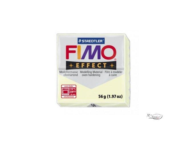 Fimo hmota Effect 56g - 04 Fosforová zelená