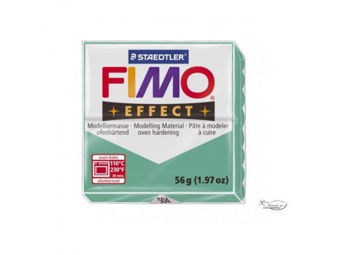 Fimo hmota Effect Transparent - 504 Zelená
