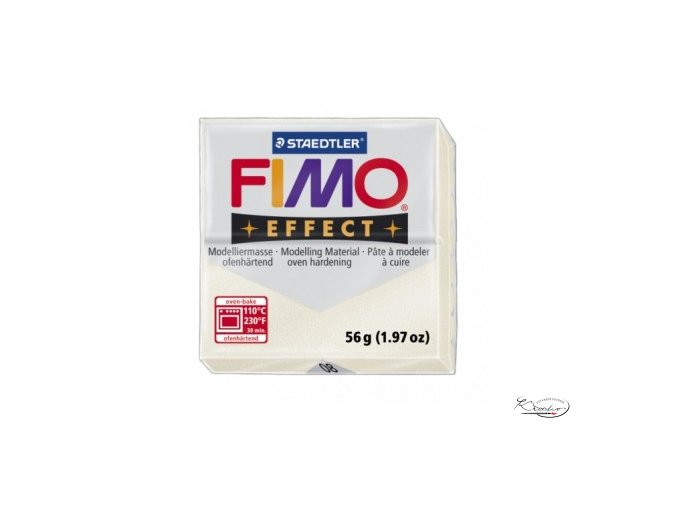 Fimo hmota Effect Metallic - 08 Perleťová