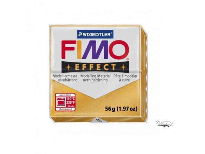 Fimo hmota Effect Metallic - 11 Zlatá