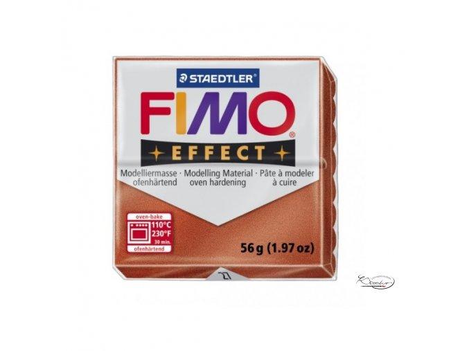 Fimo hmota Effect Metallic - 27 Měděná