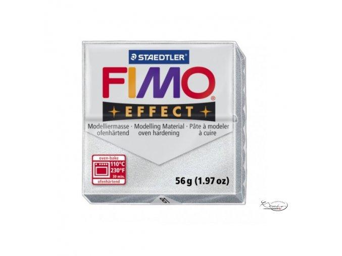 Fimo hmota Effect Metallic - 81 Stříbrná