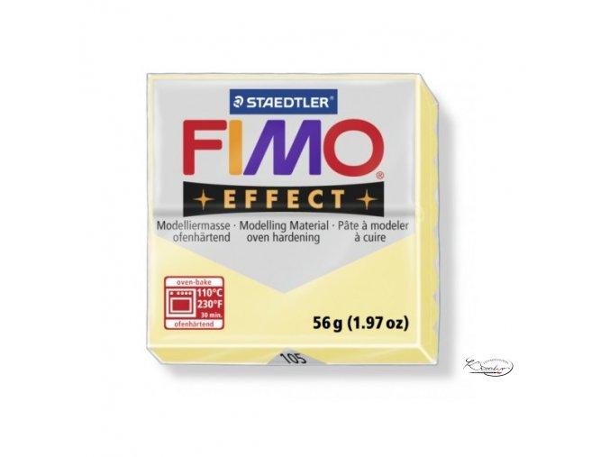 Fimo Effect Pastel - 105 Vanilková