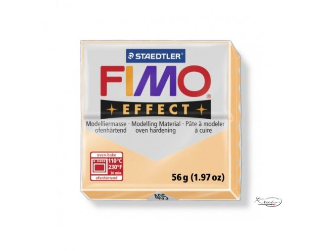 Fimo hmota Effect Pastel - 405 Broskvová